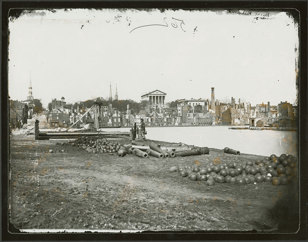 Ruins of Richmond, Virginia, 1865