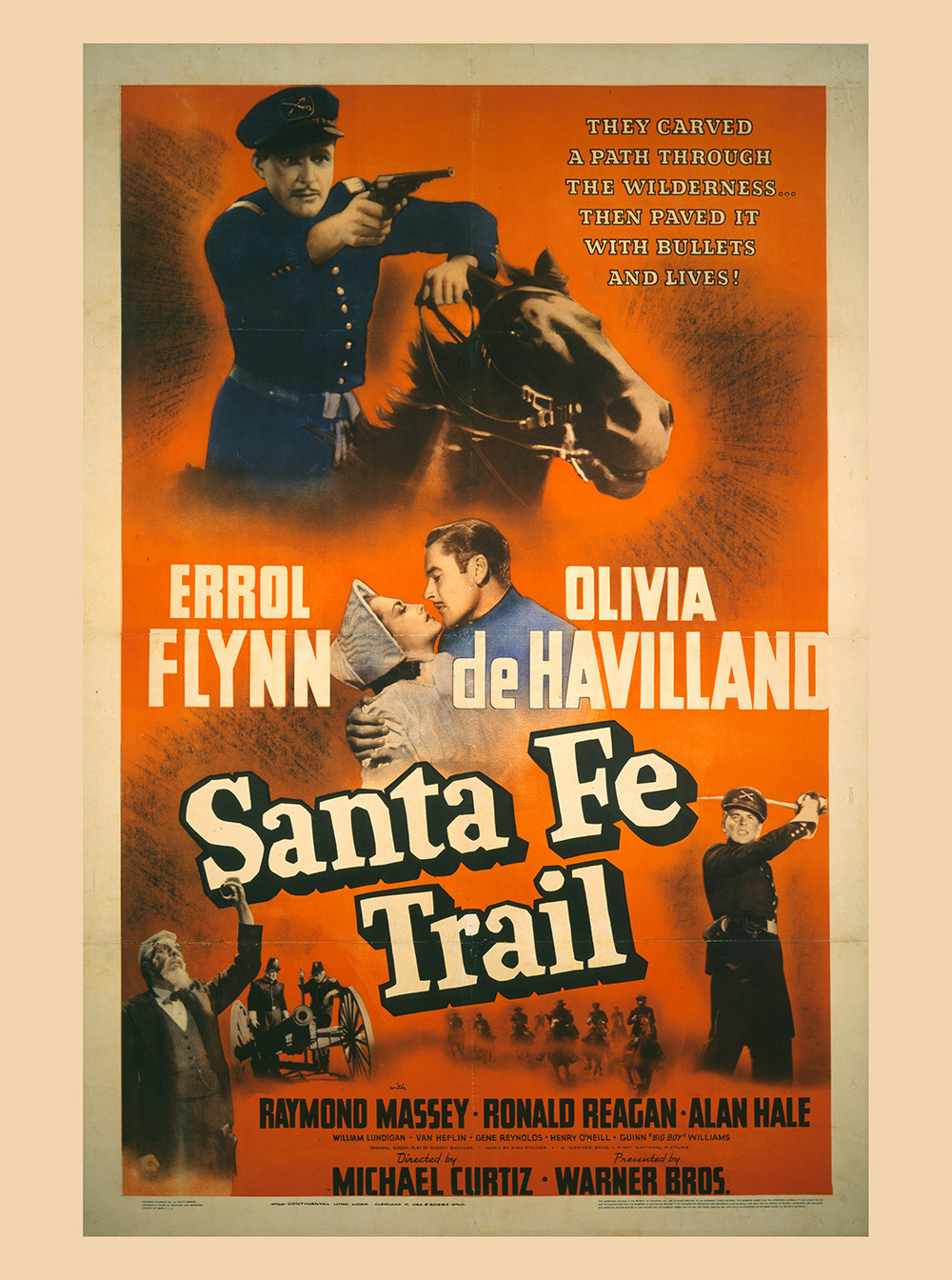 Movie Poster for Santa Fe Trail