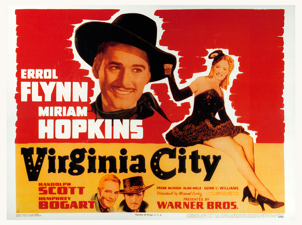 Movie Poster for Virginia City