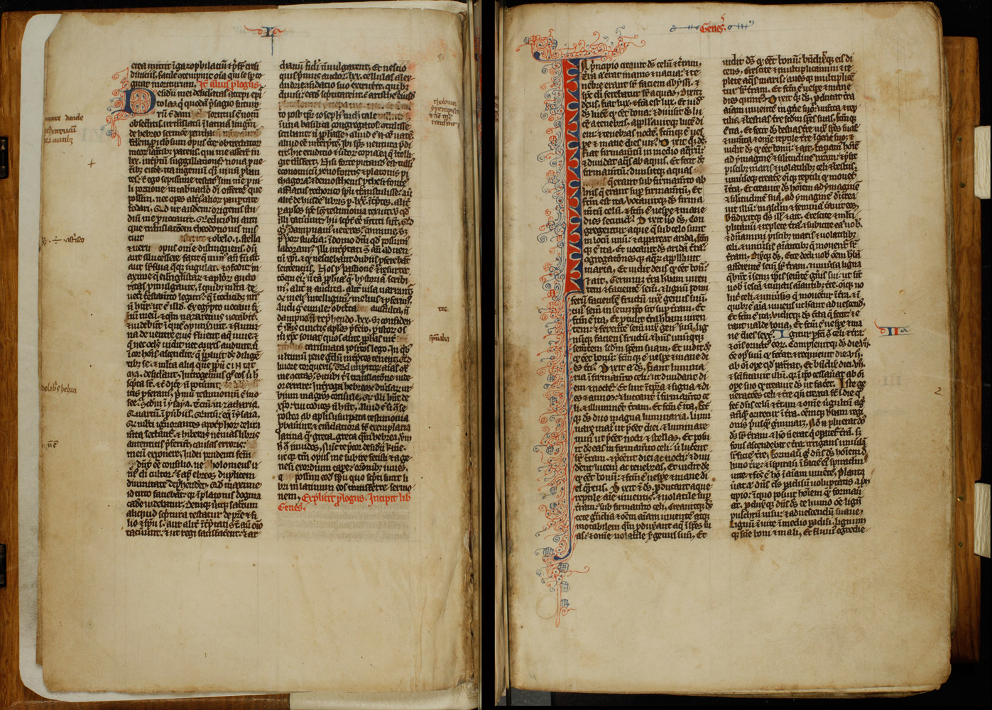 Latin Vulgate Bible With 119