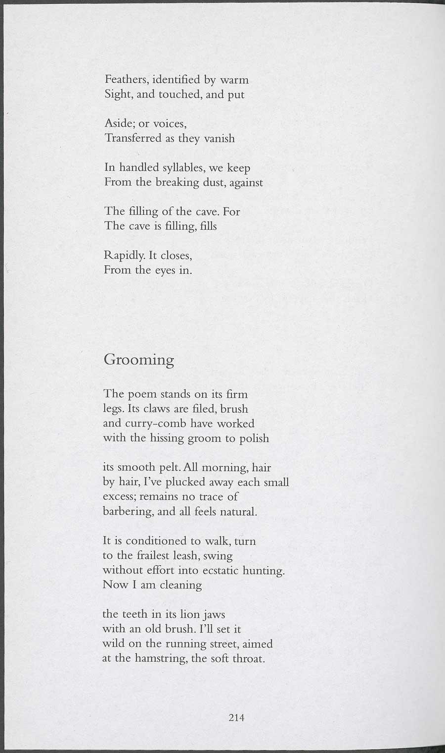 leslie norris poem