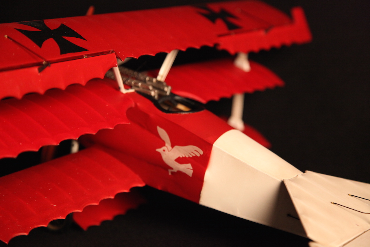 World War I replica model plane