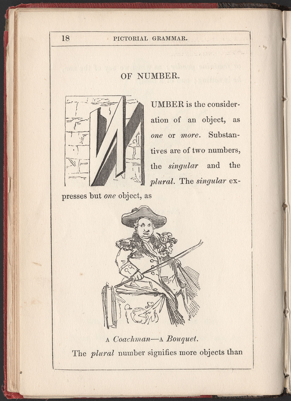 Alfred Crowquill. The Pictorial Grammar. London: Harvey and Darton, 1842. #1