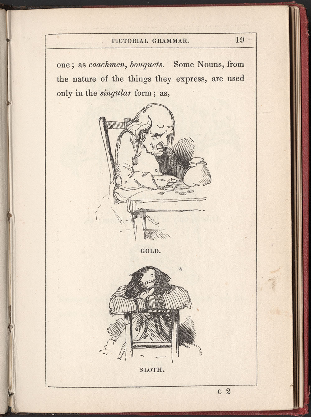 Alfred Crowquill. The Pictorial Grammar. London: Harvey and Darton, 1842. #2