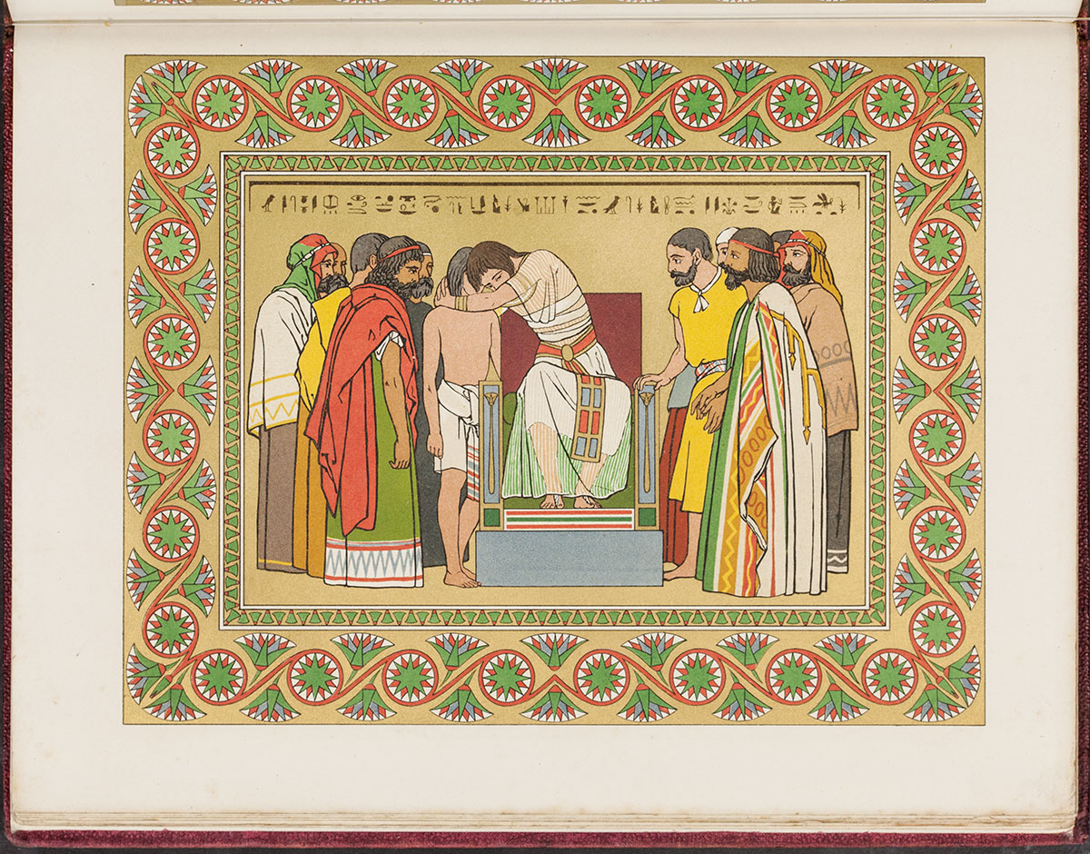 Owen Jones. The History of Joseph and His Brethren. London: Published by Day and Son, Lithographers, 1865.
