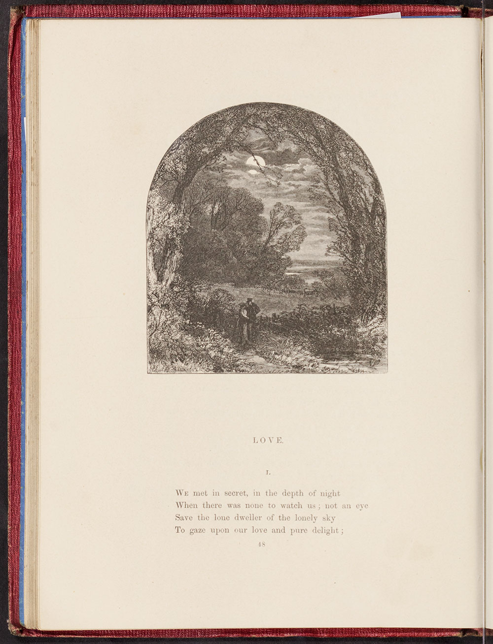 Myles Birket Foster. <i>The Home Affections Pourtrayed by the Poets.</i> London: George Routledge & Co., 1858.