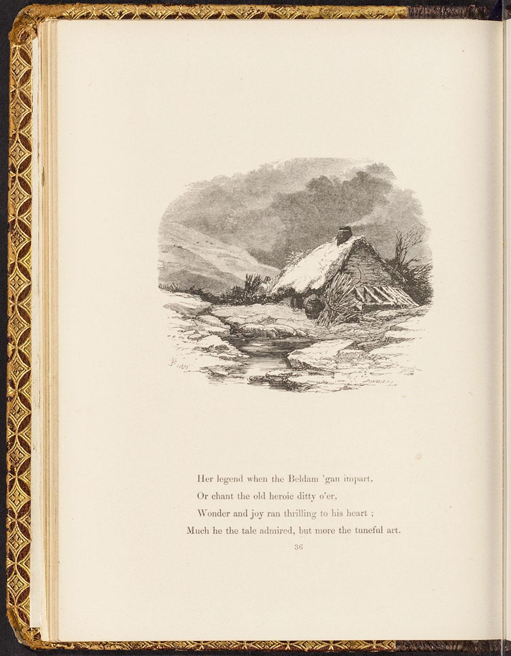 Myles Birket Foster. <i>The Minstrel.</i> London: George Routledge & Co., 1858.