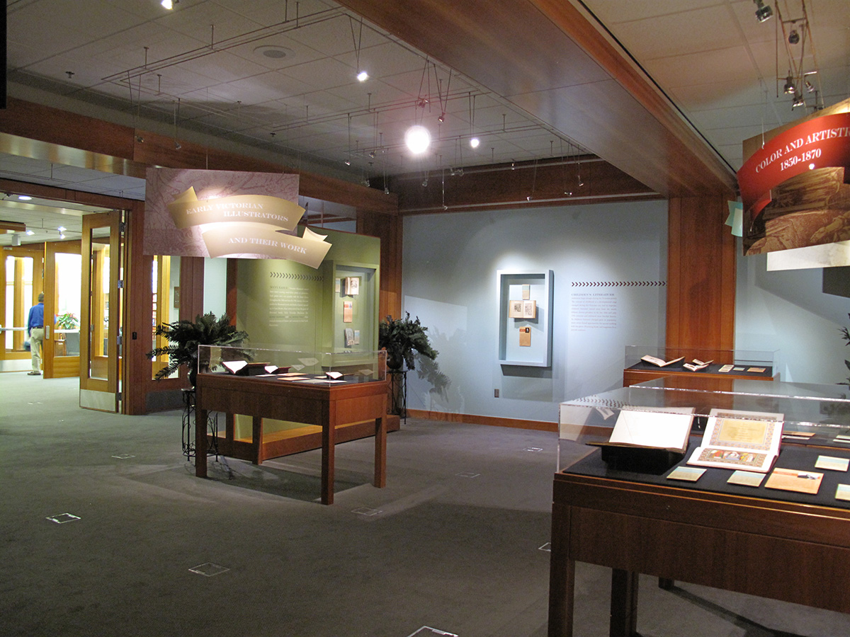 Physical exhibit space