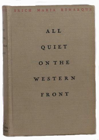 an analysis of wwi in all quiet on the western front by erich maria Erich maria remarque's classic novel all quiet on the western front is based on world war i it portrays themes involving suffering, comradeship, chance and dehumanization.