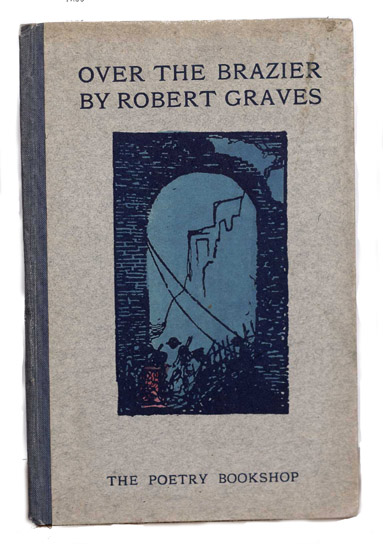 Robert Graves over the brazier