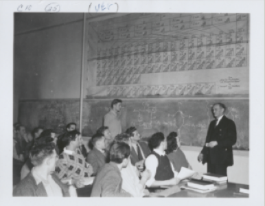 Students in Class at Brigham Young Academy