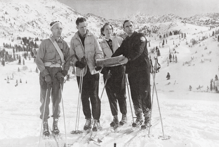 Ray Stewart and the Civilian Defense Ski and Mountain Corps