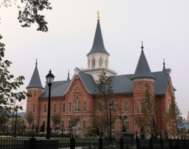The Provo City Center Temple