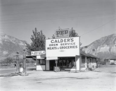 Calder's Gas Station