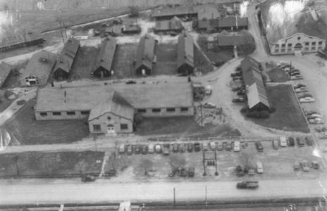 Civilian Conservation Corps barracks