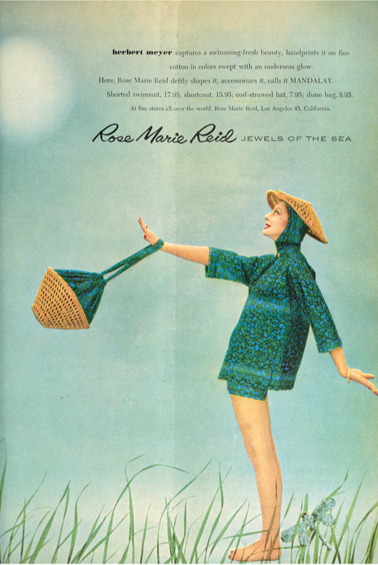 7f9d8f82eb160 Beginning in the early 1950s, Rose Marie changed the calendar of the  swimwear industry by introducing late summer and midwinter lines.
