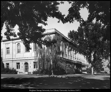 Heber J. Grant Library, 1961