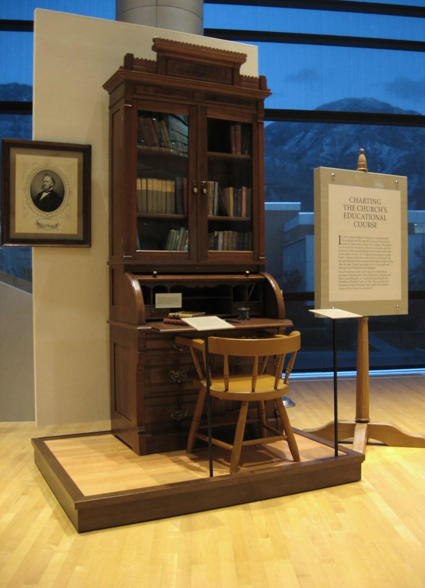 Karl G. Maeser's desk