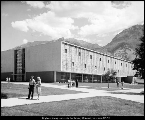 The new library building, 1961